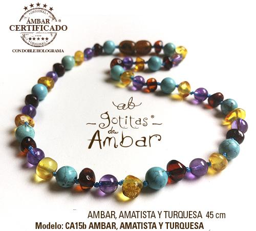eddc4367a0e2 Collar de ámbar para adulto Armonía - La tiendita de Conita