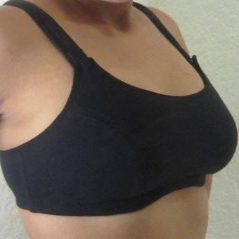a6934103d Brasier de Lactancia Deportivo Negro - La tiendita de Conita