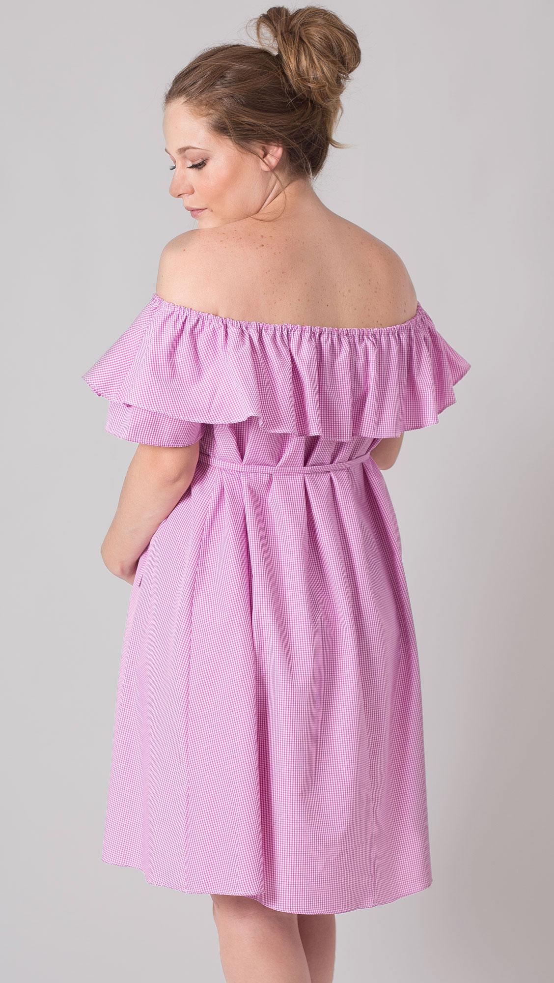 Vestido Hombros descubiertos corto - La tiendita de Conita
