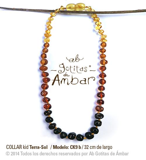6654be9ed426 Collar de ámbar para bebé Terrasol - La tiendita de Conita