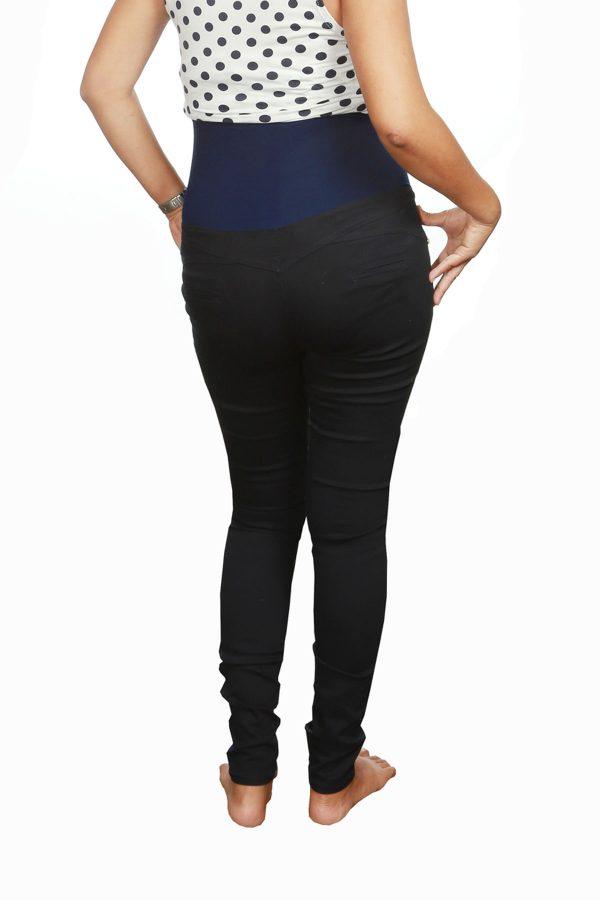 minorista online ce322 14201 Pantalón de Vestir para Embarazo Corte Alto Tipo Faja - La ...